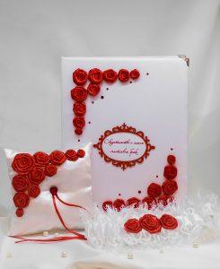 """Подвязка """"Красные розы"""""""